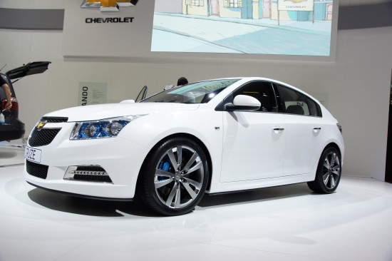Chevrolet Cruze Paris