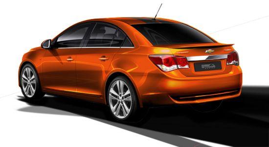 Chevrolet Cruze RS Plus Concept