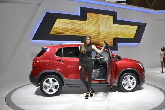Chevrolet Trax Paris