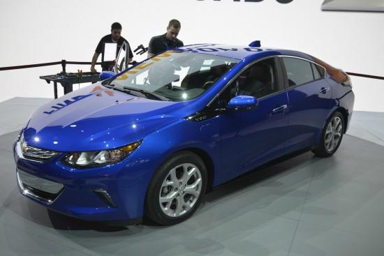 Chevrolet Volt Detroit