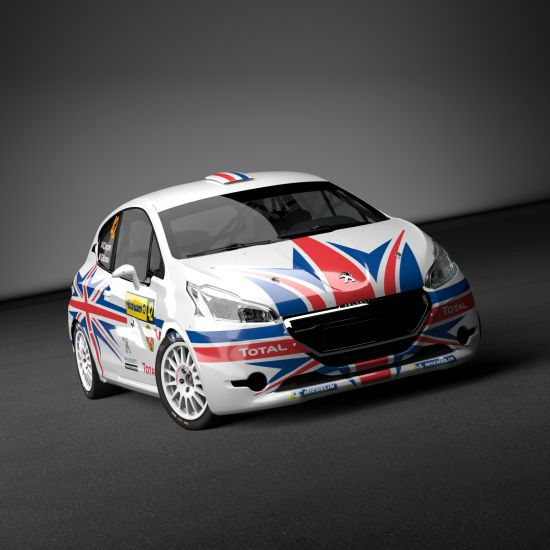 Chris Ingram Peugeot 208 R2