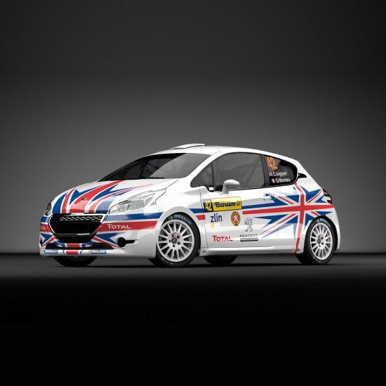 Chris Ingram Peugeot 208 R2