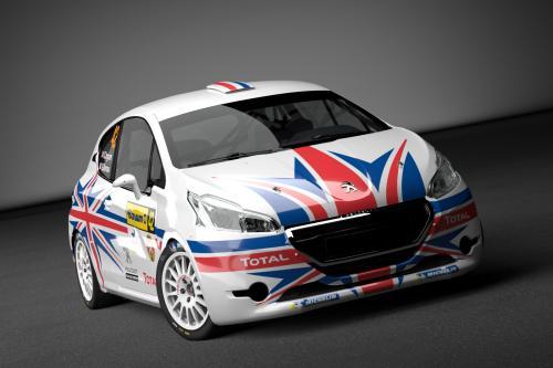 Крис Ингрэм для Peugeot 208 R2 с