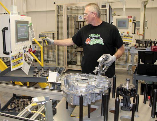 Chrysler 9-speed Transmission Factory