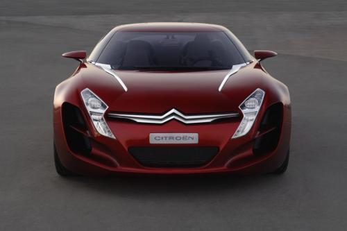 Citroen выводит спортивные истории и будущего суперкара в 2008 году Goodwood Festival of Speed