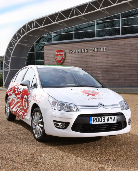 Citroen C4 Aresenal Fan's Car