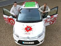 Robin Van Persie And Gael Clichy Unveils A Unique Citroen C4