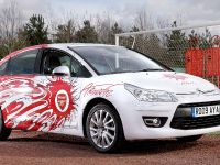 The Unique Citroen C4 Aresenal Fan'S Car