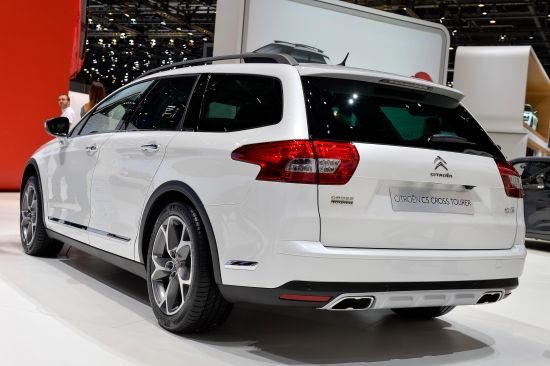 Citroen C5 Cross Tourer Geneva