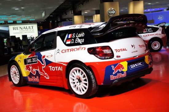 Citroen DS3 WRC Paris