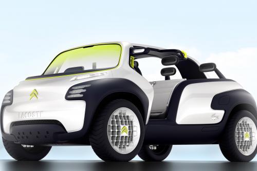 Citroen Lacoste Concept - будущее, полное открытым небом опыт