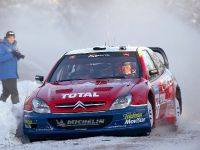 Colin McRae in the 2003 Citroen Xsara WRC, 1 of 2