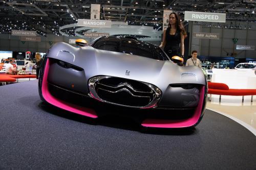 Citroen Survolt Concept - будущее ЭКО-спортивные автомобили
