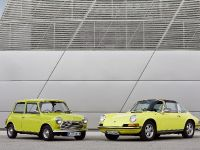 Classic MINI and Porsche 911, 1 of 38