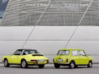 Classic MINI and Porsche 911, 2 of 38