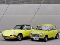 Classic MINI and Porsche 911, 3 of 38