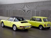 Classic MINI and Porsche 911, 24 of 38