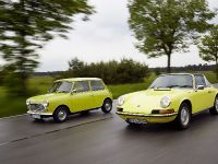 Classic MINI and Porsche 911, 31 of 38