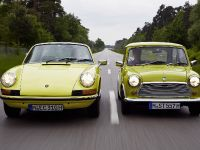 Classic MINI and Porsche 911, 37 of 38