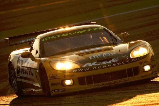 Corvette in Fia GT1 Race at Adria