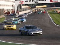 Corvette in FIA GT1 race at Adria, 3 of 3