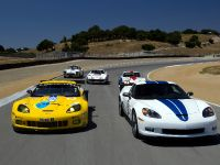 Chevrolet Corvette C6.R GT2 and 2011 Chevrolet Corvette Z06 Le Mans 50th Anniversary Edition