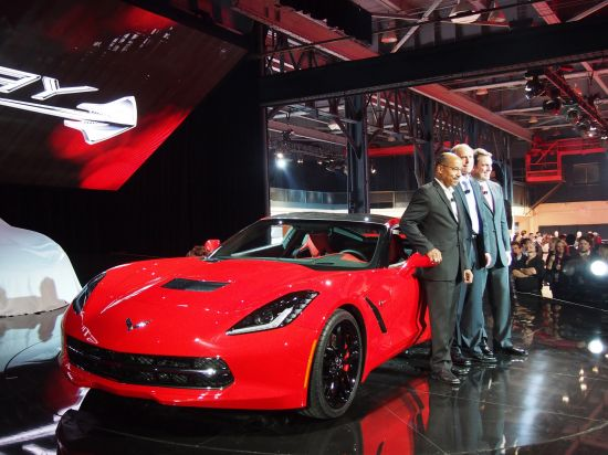 Corvette Stingray Detroit