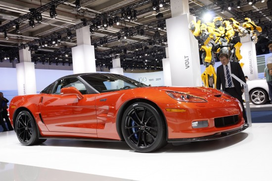 Corvette ZR1 Frankfurt