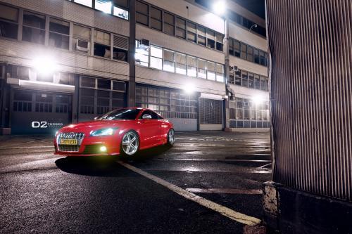 D2Forged Audi TT-S XL3 показывает более агрессивную позицию