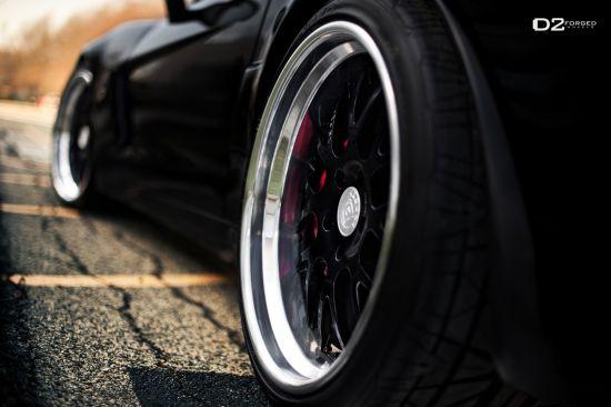 D2Forged Chevrolet Corvette Z06 FMS-01 Black