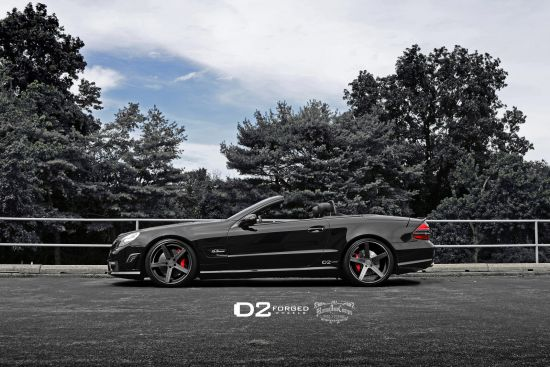D2Forged Mercedes-Benz SL63 AMG CV2
