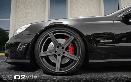 D2Forged Mercedes-Benz SL63 AMG CV2