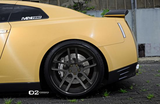 D2Forged Nissan GT-R