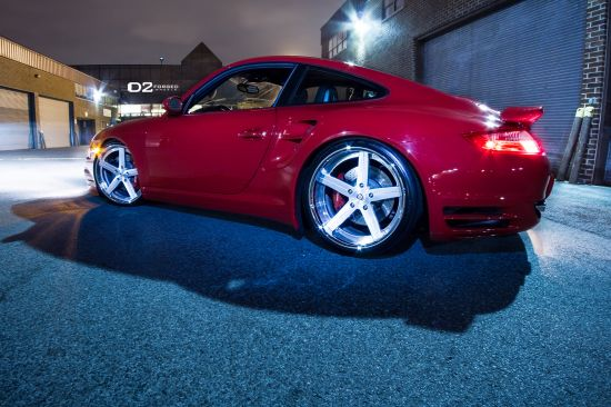 D2Forged Porsche 997 Turbo CV2