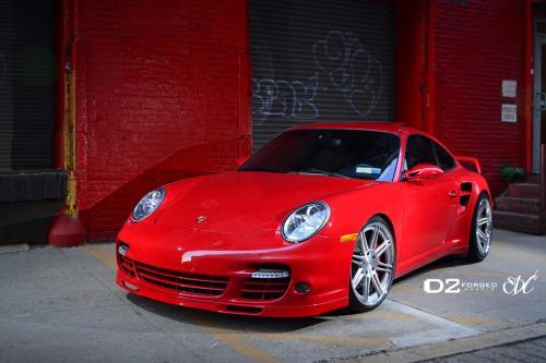 Изобилие: D2Forged Porsche 997TT CV13