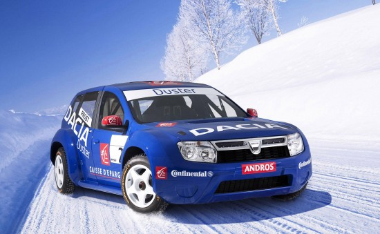 Dacia Duster Competition Car