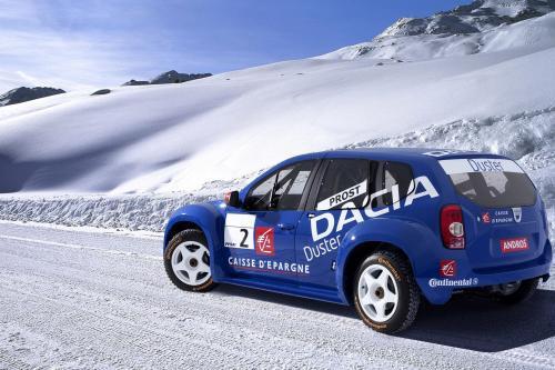 Dacia Duster выйграл конкурс среди автомобилей, которыми будет управлять Ален Прост