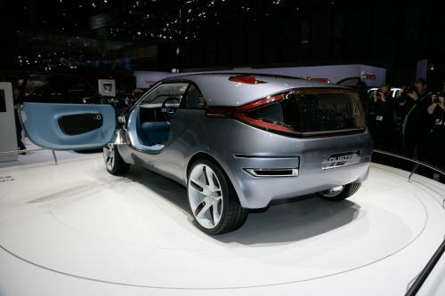 Dacia Duster Crossover Concept представлен на автосалоне в Женеве - фотография dacia