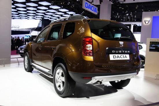 Dacia Duster Paris