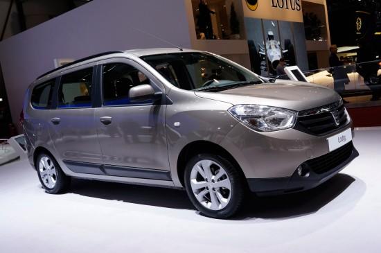 Dacia Lodgy Geneva