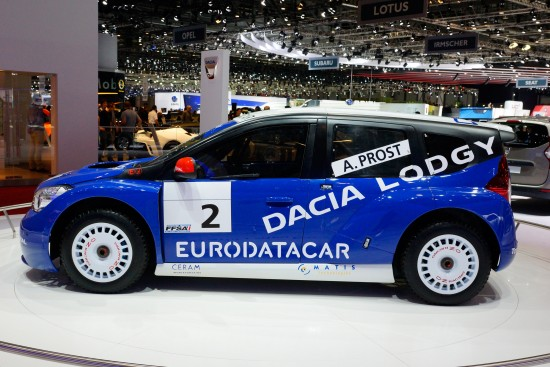 Dacia Lodgy Glace Geneva