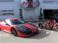 DMC Ferrari 458 Italia Estremo and The Twin Bike, 1 of 5