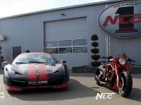 DMC Ferrari 458 Italia Estremo and The Twin Bike, 2 of 5