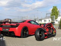 DMC Ferrari 458 Italia Estremo and The Twin Bike, 3 of 5