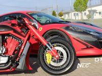 DMC Ferrari 458 Italia Estremo and The Twin Bike, 4 of 5