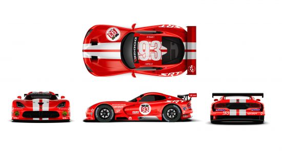 Dodge Viper SRT GTS-Rs