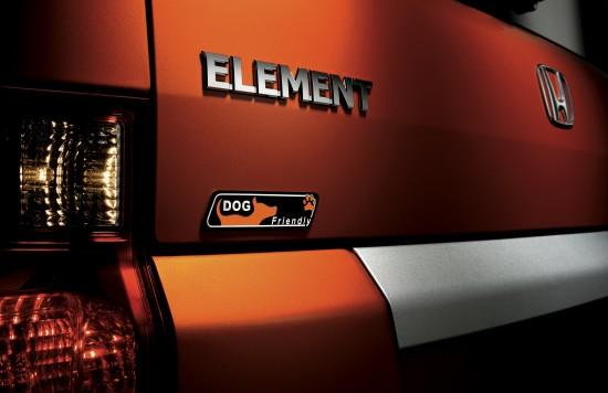 Dog Friendly Honda Element Concept