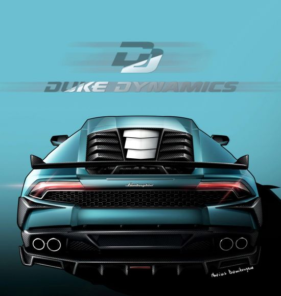 Duke Dynamics Lamborghini Huracan LP610-4 Arrow