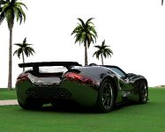 Eco-Exotic ScorpionTM Supercar, 2 of 8