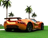 Eco-Exotic ScorpionTM Supercar, 5 of 8